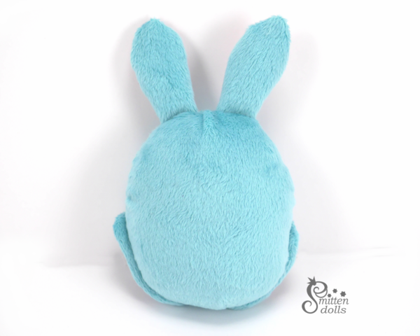 Bunny Egg Back View