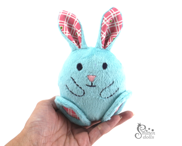 Bunny Egg Pattern - Bunny Egg in a hand