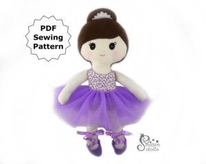 Ballerina Doll Front View