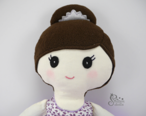 Ballerina Doll Face View