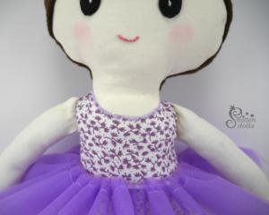 Ballerina Doll Collar