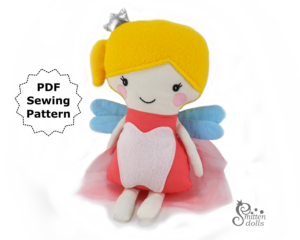 Tooth Fairy Doll - Sitting