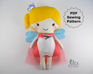 Tooth Fairy Doll with Money