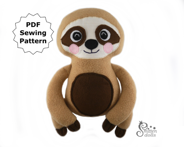 Sloth Pattern Front View
