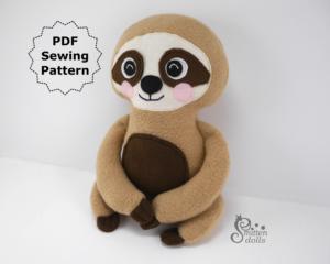 Sloth Pattern Side View