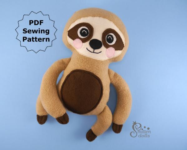 Sloth Pattern Slanted View