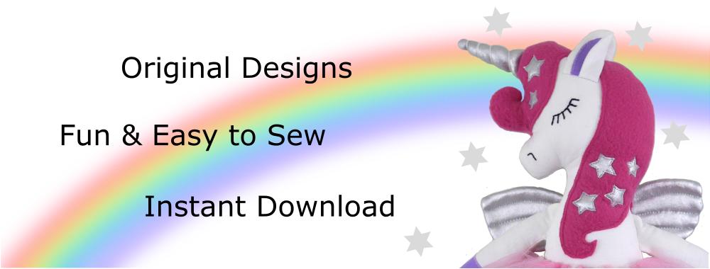 Main slider, Original Designs, Easy To Sew, Instant Download